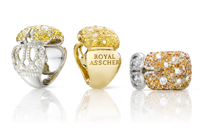 Royal Asscher Debuts 'Fancy Royals' Collection for King Willem-Alexander's Coronation