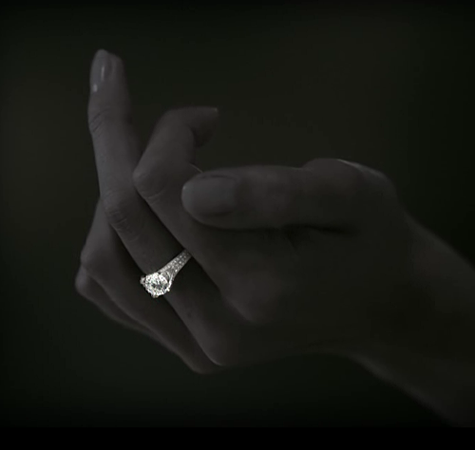 Rebel Chique Diamonds by Royal Asscher: luxury man-made diamond brand campaign