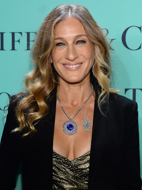 Celebrities Shine In Tiffany Jewels At The 2013 Blue Book
