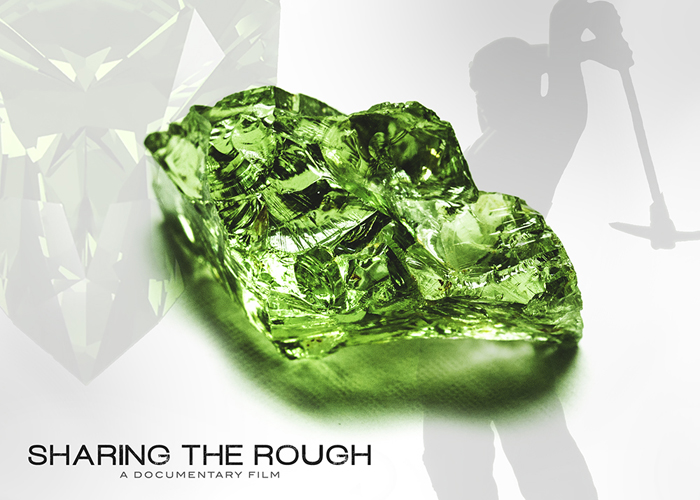 49.08-carat green grossular garnet from Sharing the Rough