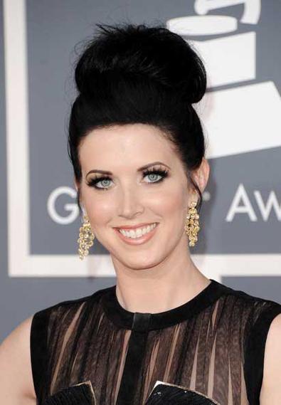 Shawna Thompson 2012 Grammy Awards
