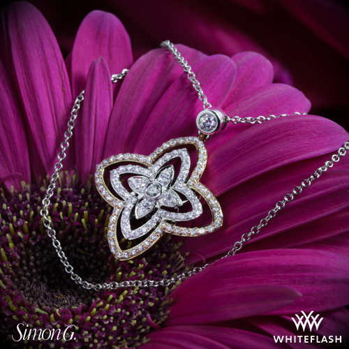 Simon G. 'Duchess' Diamond Pendant from Whiteflash
