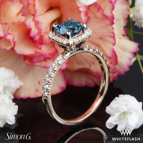 Simon G MR2132 Passion Diamond Engagement Ring from Whiteflash