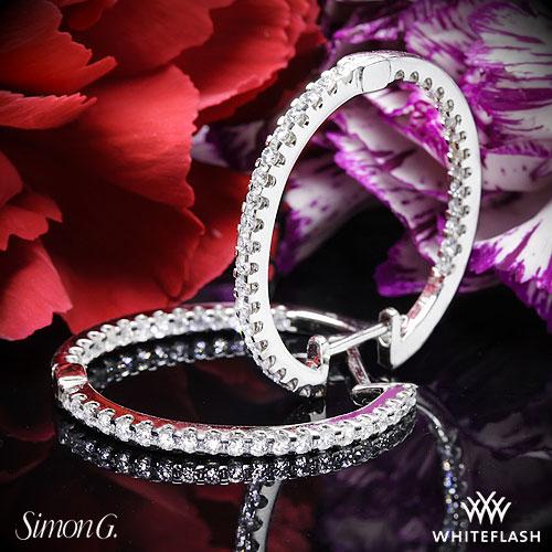 Door Prize PS GTG 2016:  Simon G ME1404 Caviar Diamond Earrings (G3) From Whiteflash