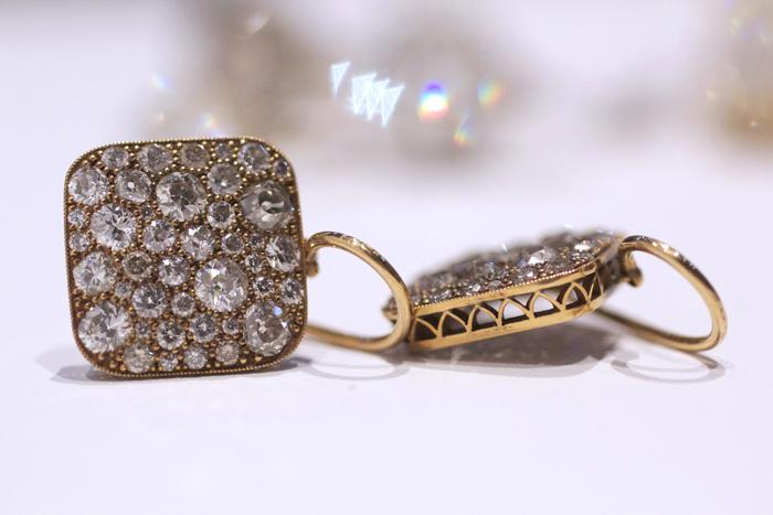 Single Stone Cobblestone Earrings • Image Erika Winters