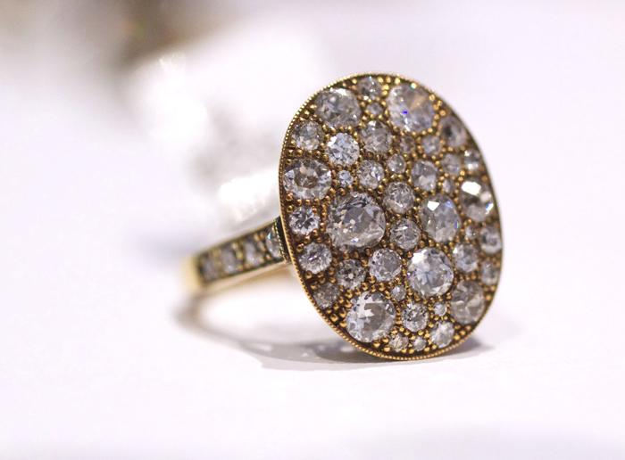 Single Stone Cobblestone Ring • Image Erika Winters