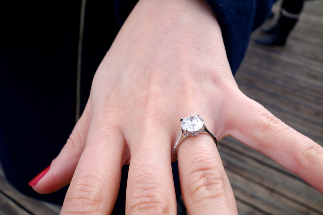 Victor Canera diamond solitaire engagement ring shared by marcdc