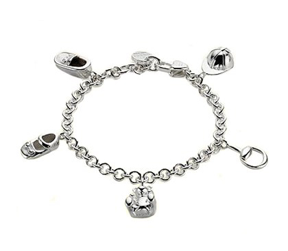 Gucci charm bracelet at Solomon Brothers