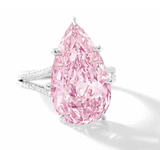 8.41-Carat Fancy Vivid Purple-Pink Diamond • Sotheby's