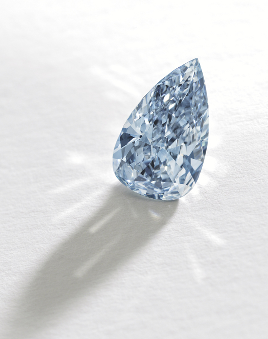 1.08-carat fancy-vivid blue diamond • Sotheby's