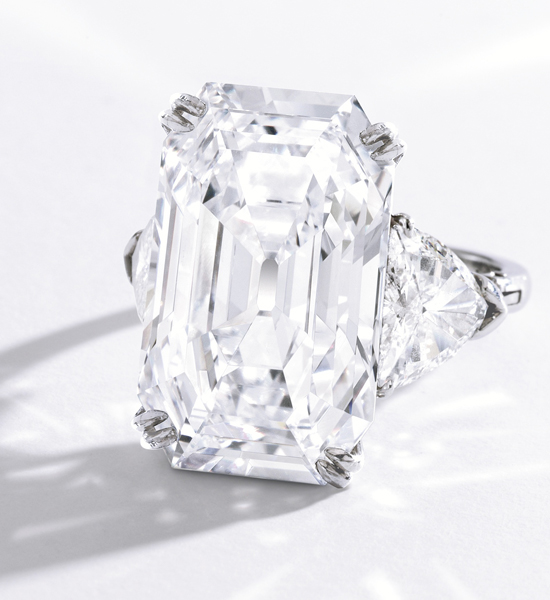 19.51-carat diamond ring by Harry Winston • Sotheby's