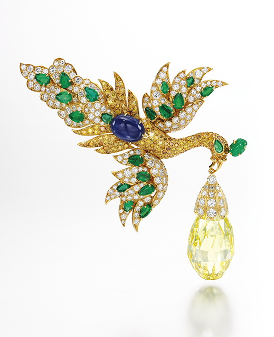 The Walska Briolette Diamond brooch by Van Cleef & Arpels