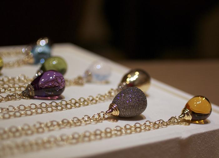 Syna Jewels Mogul collection pendants • Image Erika Winters