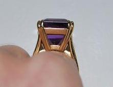 ManhattanLawyer's 15.38 Carat Amethyst Right Hand Ring (Side2 View) - image by ManhattanLawyer