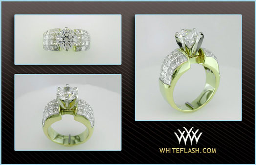 MaryAlaina's Tiffany Reproduction Reset Engagement Ring (Old Setting) - image by Whiteflash