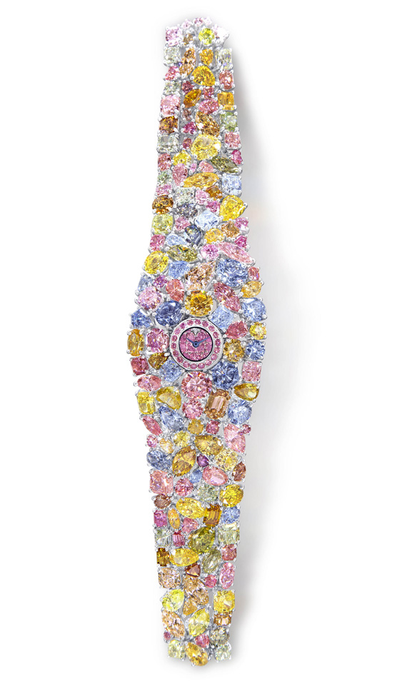 Graff Diamonds Hallucination multicolored diamond watch