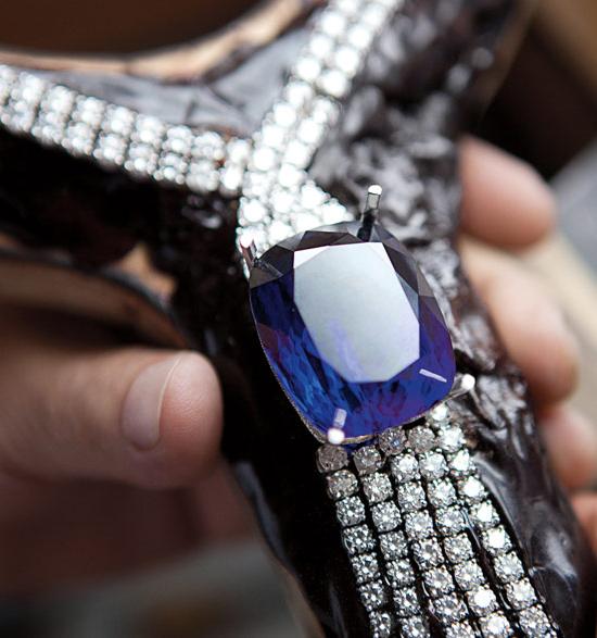 Tiffany & Co. 175th  Anniversary Tanzanite necklace