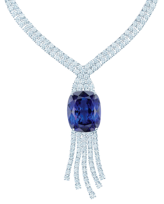 Tiffany & Co. 175th  Anniversary Tanzanite necklace