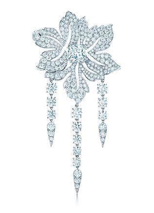 Tiffany 2013 Blue Book Collection diamond brooch