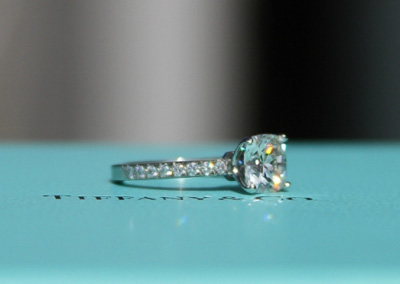 Engagement ring tiffany on hand  Jewel of the Week - Tiffany Novo | PriceScope