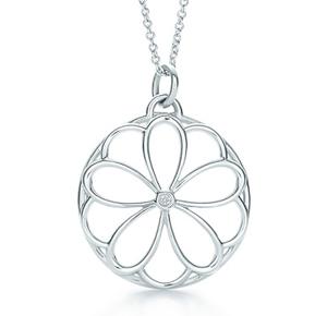 Tiffany Petals Diamond Pendant
