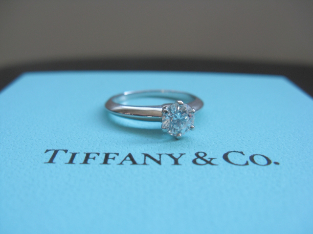 The Tiffany Setting, Diamond Engagement Ring