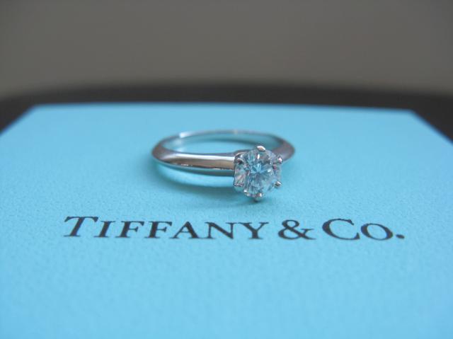 Vintage tiffany engagement rings