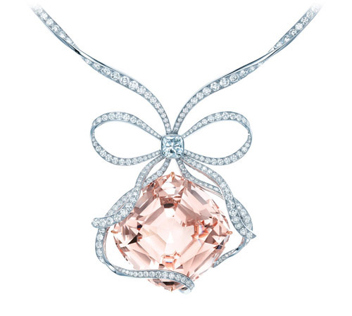 The Tiffany Anniversary Morganite necklace