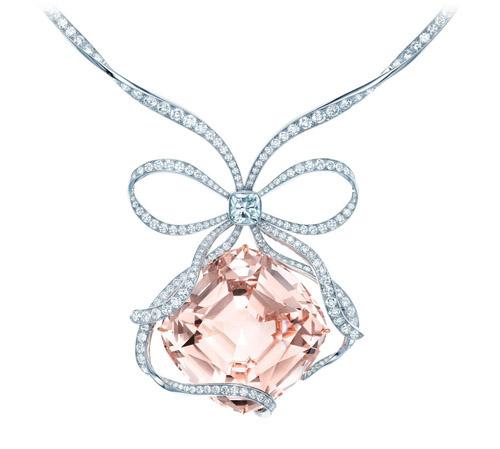 The Tiffany Anniversary Morganite necklace