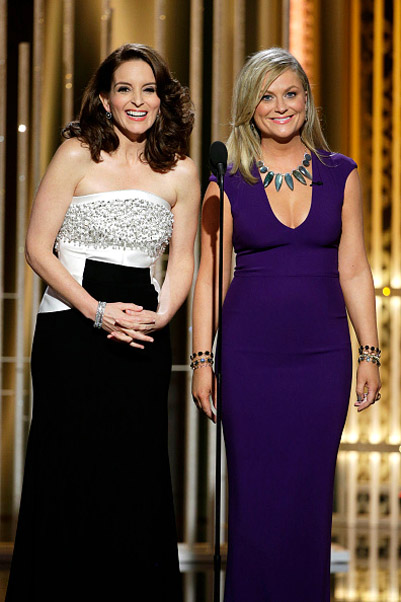 2015 Golden Globes Tina Fey and Amy Poehler