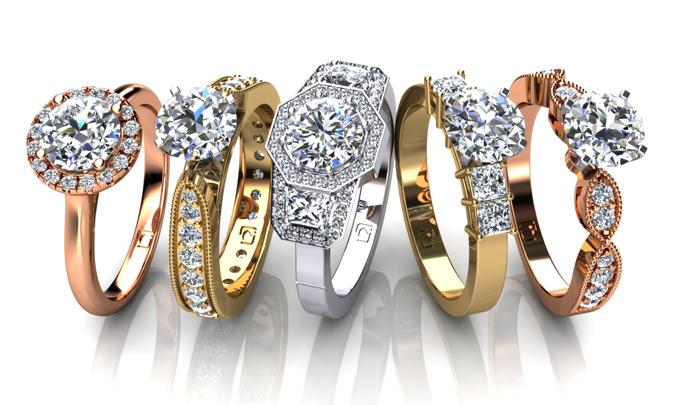 Union Diamond New Engagement Rings