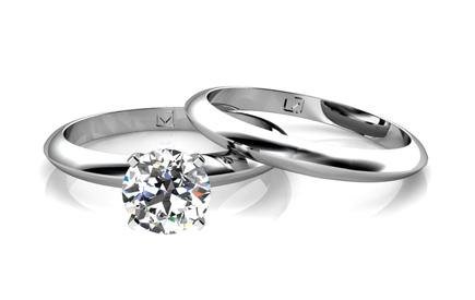 Wedding set from Union Diamond