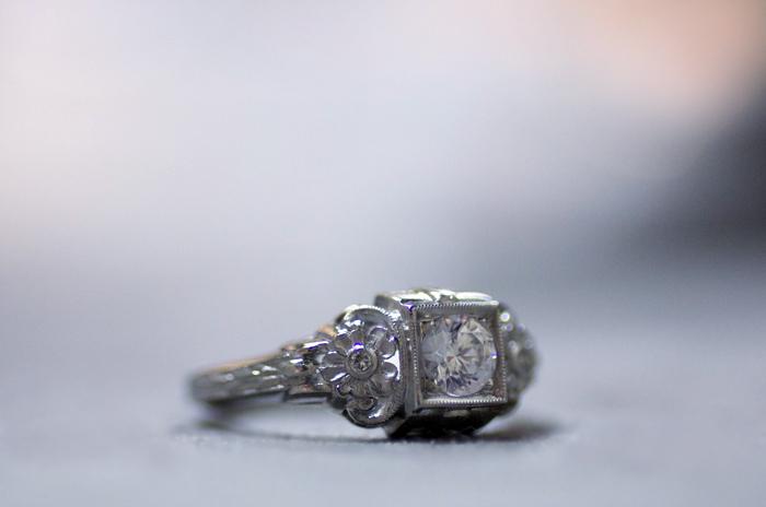 Diamond engagement ring style E.866.3 by Van Craeynest