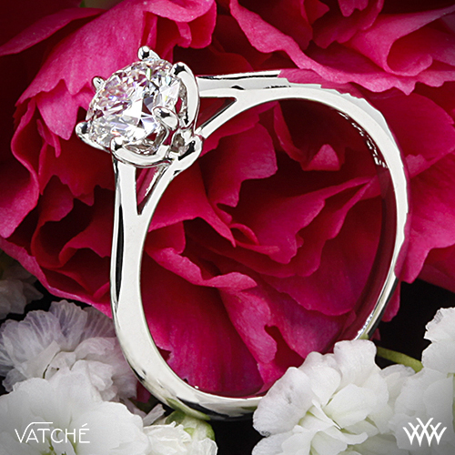 Vatche Felicity solitaire diamond ring