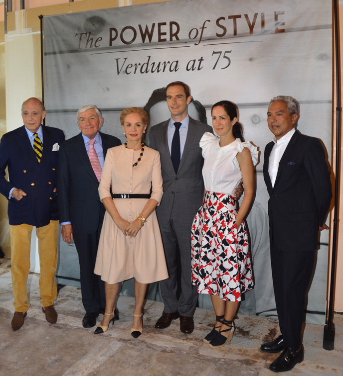 The Power of Style: Verdura at 75 exhibition announcement event