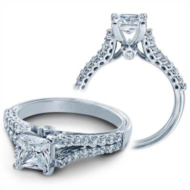 "Verragio V-910-P5.5 Verragio ""Classico Collection"" 2 Row Diamond Engagement Ring at Solomon Brothers"