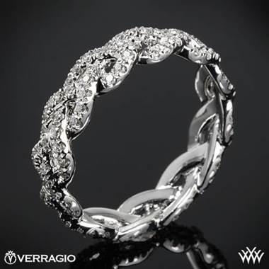 Platinum Verragio WED-4023 Eternal Braid Diamond Wedding Ring at Whiteflash