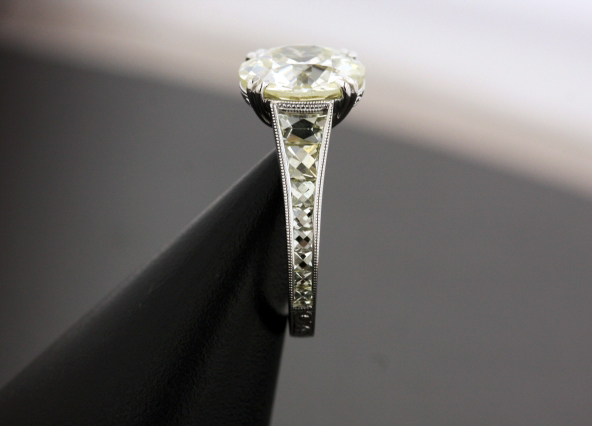 Diamond Engagement Ring by Victor Canera