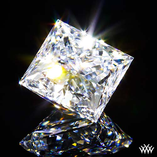 A CUT ABOVE® Super Ideal Princess Cut Diamond from Whiteflash