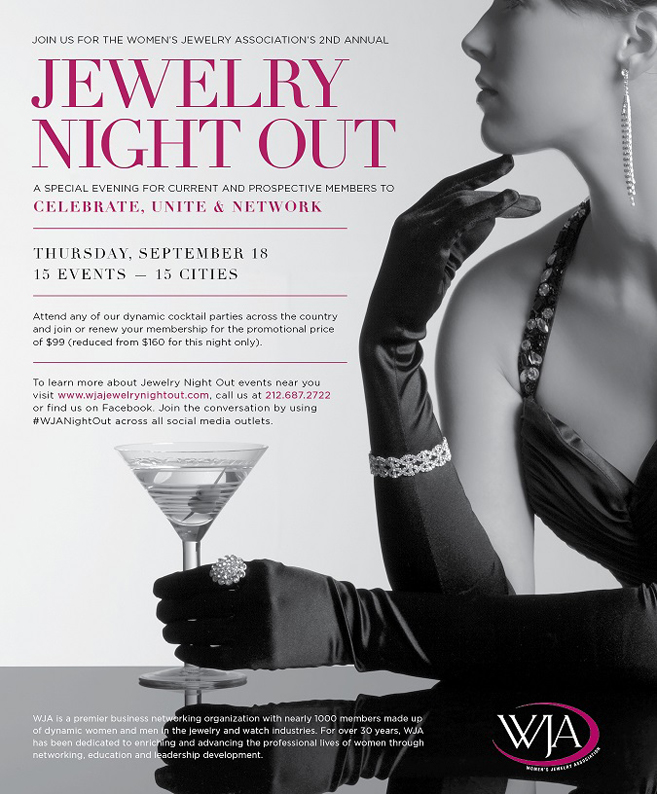 Join the Women's Jewelry Association for Jewelry Night Out!
