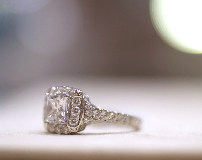 Yael Designs Novelique Collection: engagement ring style 09276 • Image Erika Winters
