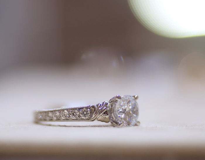 Yael Designs Novelique Collection: engagement ring style 09281 • Image Erika Winters