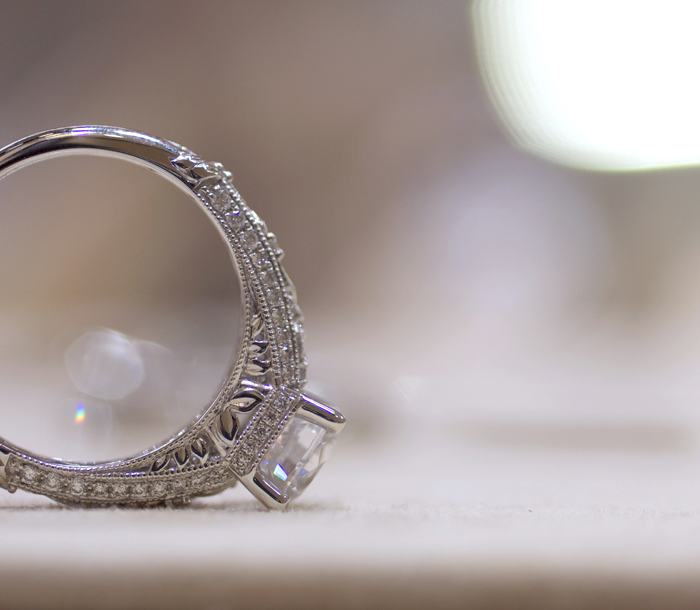 Yael Designs Novelique Collection: engagement ring style 09282 • Image Erika Winters