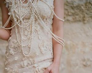 Bridal pearls