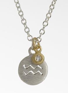 Aquarius pendant by Yasuko Azuma