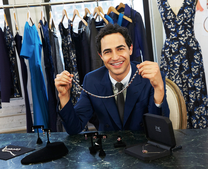 Renowned fashion designer Zac Posen has unveiled new jewelry collections for Blue Nile