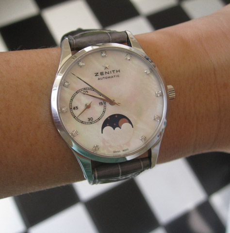 Zenith Heritage Ultra Thin Moonphase Ladies Watch
