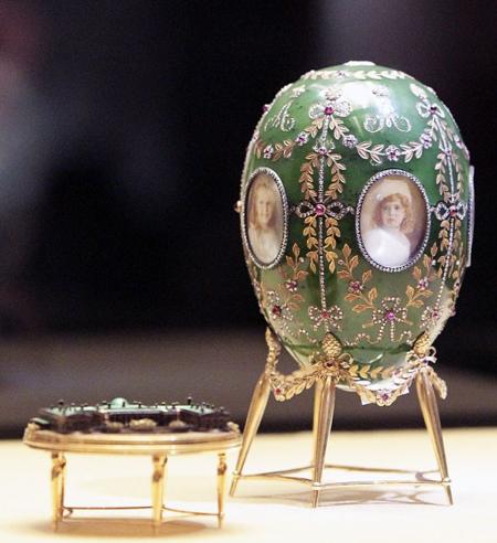 Alexander Palace Egg by Fabergé