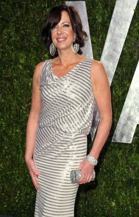 Allison Janney at the 2012 Vanity Fair Oscar Party