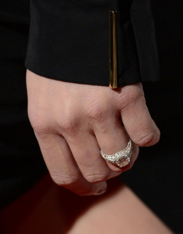 Amber Heard's engagement ring